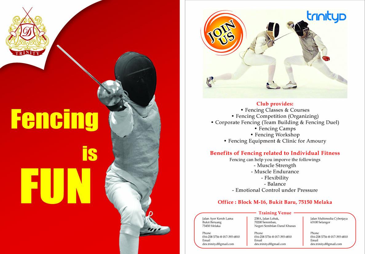 Trinity D Fencing Club Fencing Training Fencer Malaysia