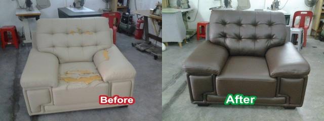 Beau PU Seat Repair Melaka. Sofa Repair Shop Malaysia