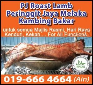 PJ Roast Lamb Melaka 2015