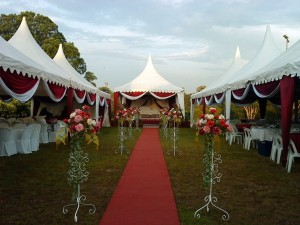Wedding Canopy set up (2)
