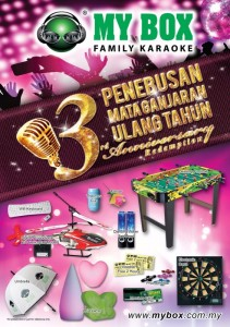 Merdeka Permai Outlet 3rd Anniversary Promotion