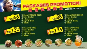 Merdeka Permai KTV Packages