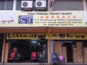 Ct office furniture melaka raya