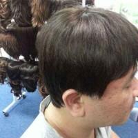 hair wig real hair 15 mlk