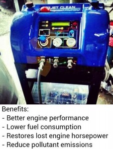 jet fuel engine cleaning