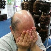 real hair 2 wig