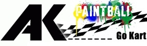 Ak gokart paintball logo