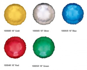 Betallic Solid Microfoil Ball balloon