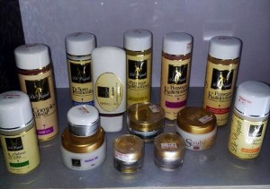 De Wajah facial Product