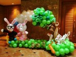 balloon decor entrance malaysia