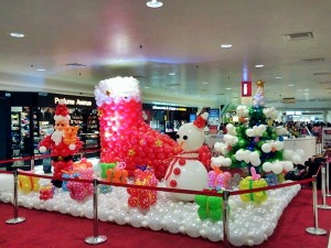 mahkota parade christmas balloon