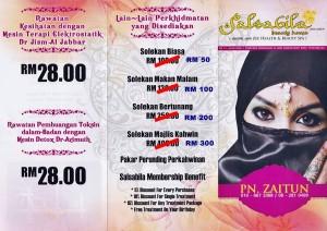 Beauty Facial Spa flyers 1