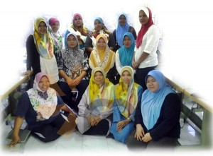 class belajar jahit tudung telekung masjid tanah melaka