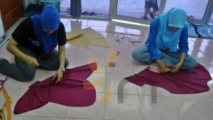 kelas jahitan tudung masjid tanah melaka class pic (1)