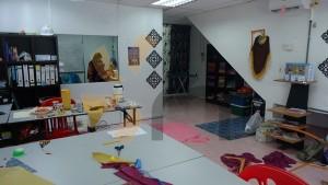 kelas jahitan tudung masjid tanah melaka class pic (3)