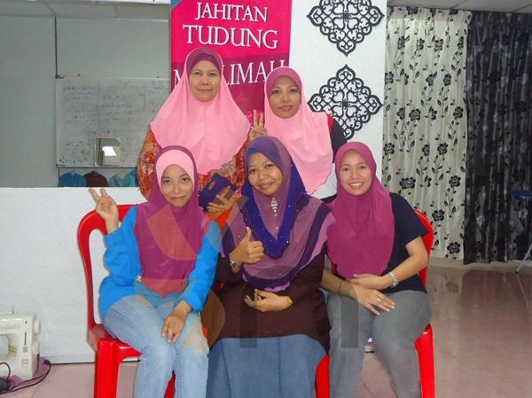 Kelas Jahitan Tudung Telekung Tailor Class Masjid