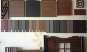 composite wood colours