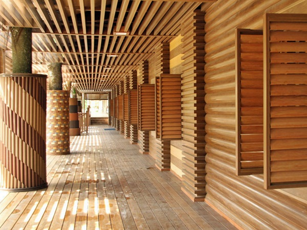 Wood Facade Panels