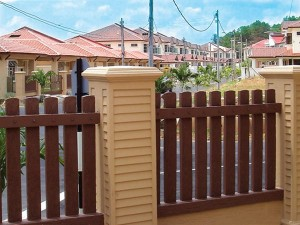 composite wood fencing