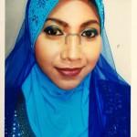 Malay bridal make up