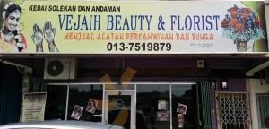 Vejaih indian Beauty Bridal Florist melaka