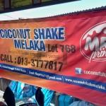 best coconut shake melaka