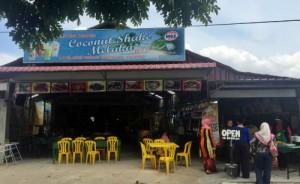 coconut shake famous melaka
