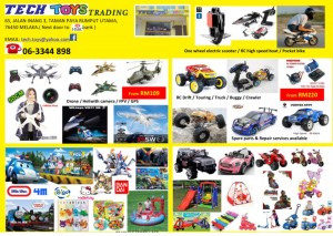 RC toys Melaka Promo