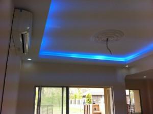 L boc plaster ceiling