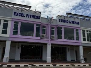 excel fitness studio rehab melaka
