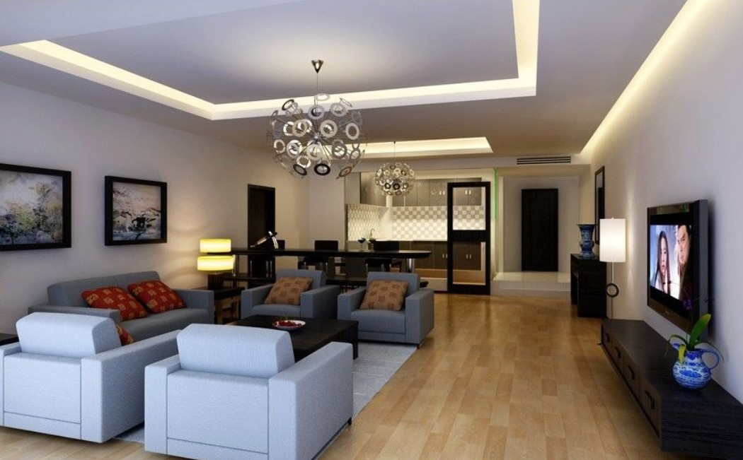 Image of: Top Innovative Living Room Ceiling Lighting Ideas Multitude 6566 Wtsenates
