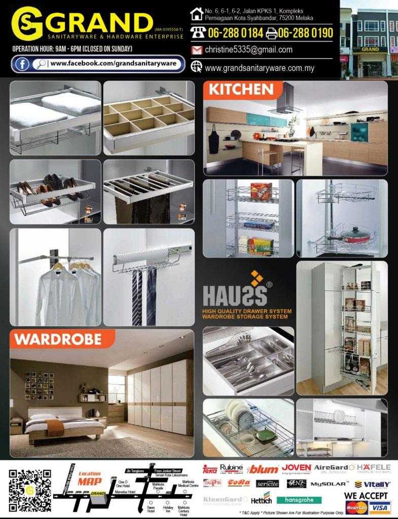 TOP GRAND Sanitary Ware Hardware Bathroom Kitchen Products