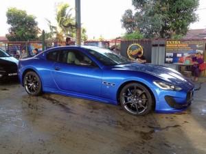 sport car washing melaka