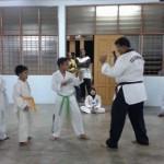 taekwondo class melak