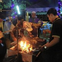 Kambing golek_Melaka_17roast whole lamb