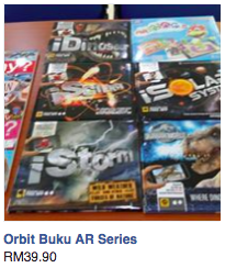 Orbit Book AR series