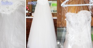wedding dress cleaning melaka