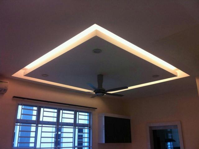 Jg perfect plaster decoration construction melaka bemban for Plaster ceiling design price