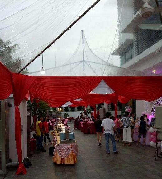 transperent canopy melaka rent and sales