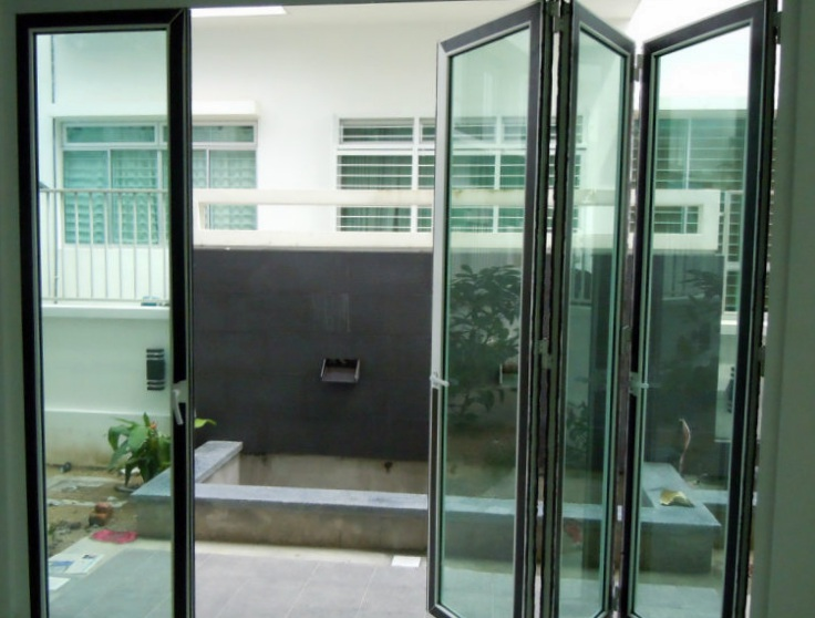L Amp K Glass Aluminium Ceiling Window Sliding Door